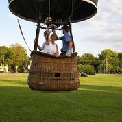Take a Hot Air Balloon Ride from the Ginger Cat B&B